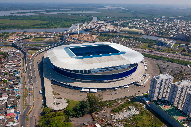 Finalizado acordo para retomada das obras do entorno da Arena do Grêmio, em Porto Alegre