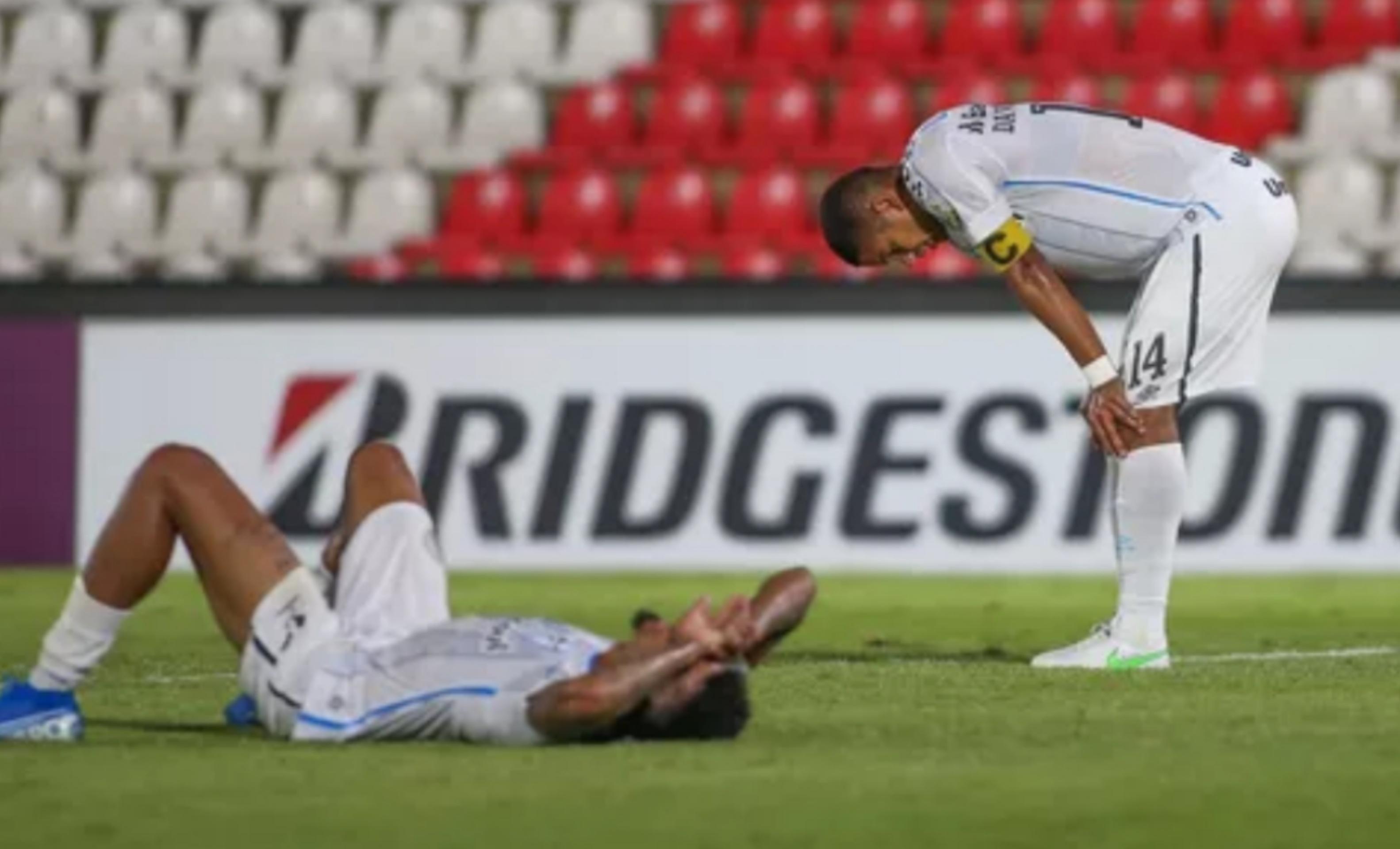 Grêmio sofre virada e larga em desvantagem contra Del Valle na Libertadores