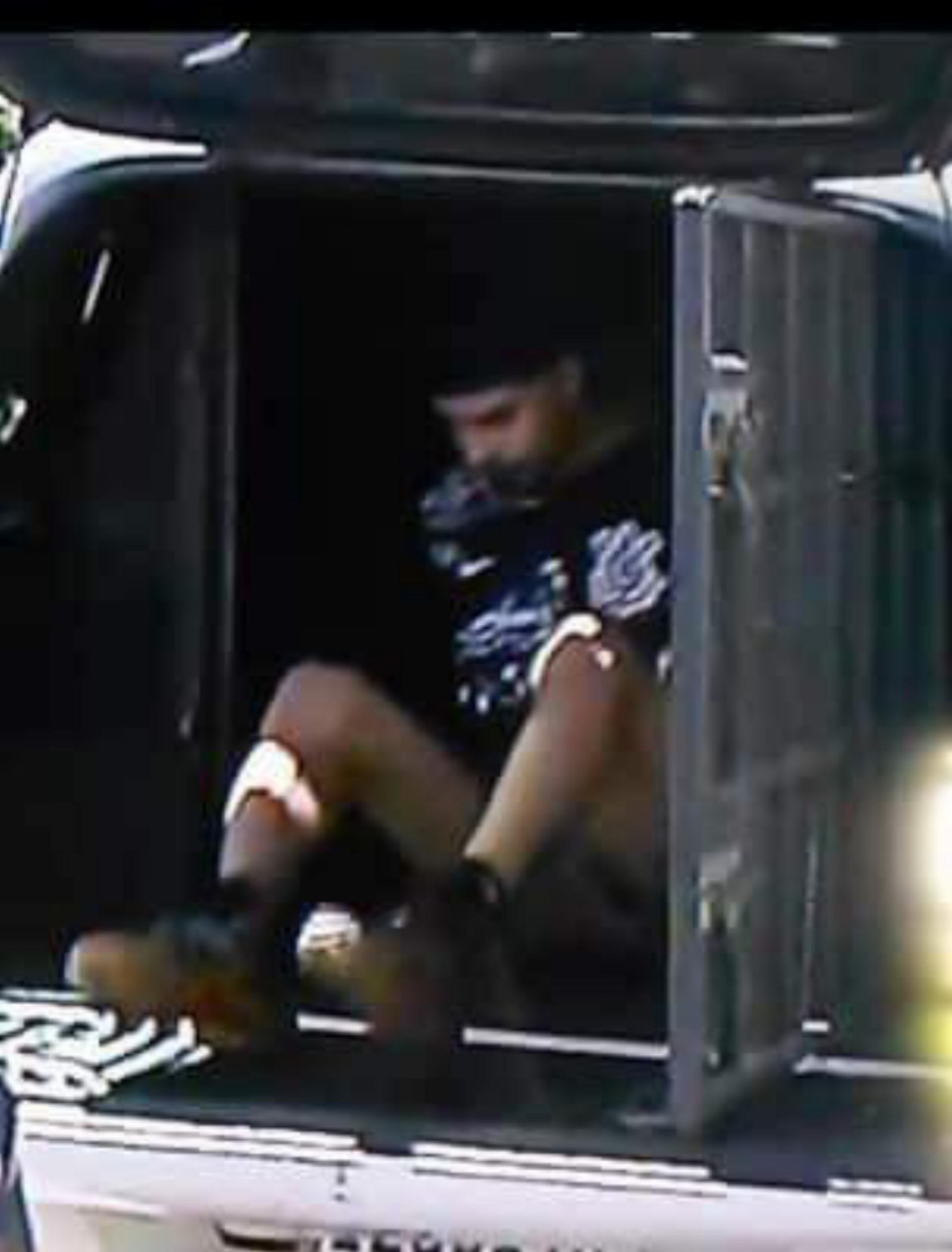 Preso pelo 20 BPM Suspeito de matar a moça que esperava seu ônibus na parada do Barra Shopping